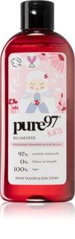 pure97 Kids Blumenfee gel de dus si sampon 2in1 pentru copii