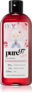 pure97 Kids Blumenfee Shampoo And Shower Gel 2 in 1 for Kids