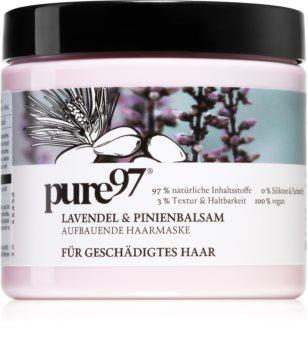 pure97 Lavendel & Pinienbalsam obnovující maska pro poškozené vlasy