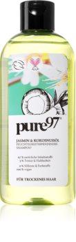 pure97 Jasmin & Kokosnussöl hydratační šampon pro suché vlasy