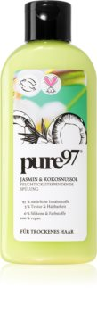 pure97 Jasmin & Kokosnussöl hydratační kondicionér pro suché vlasy