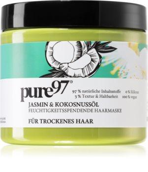 pure97 Jasmin & Kokosnussöl Hydraterende Masker voor Droog Haar