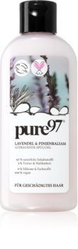 pure97 Lavendel & Pinienbalsam balsam pentru regenerare pentru par deteriorat