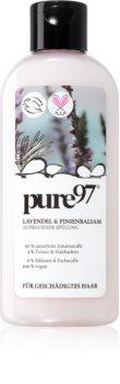 pure97 Lavendel & Pinienbalsam възстановяващ балсам за увредена коса