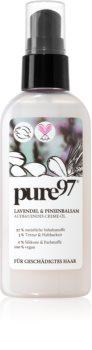 pure97 Lavendel & Pinienbalsam cremă hrănitoare și termo-protectoare cu ulei