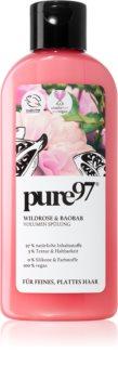 pure97 Wildrose & Baobab Volumen-Conditioner für sanfte und müde Haare