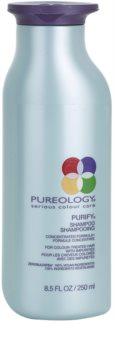 Pureology Purify tiefenreinigendes Shampoo für gefärbtes Haar