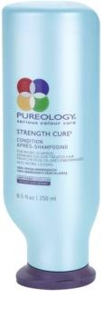 Pureology Strength Cure acondicionador fortificante para cabello teñido y dañado