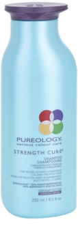 Pureology Strength Cure δυναμωτικό σαμπουάν για κατεστραμμένα και βαμμένα μαλλιά