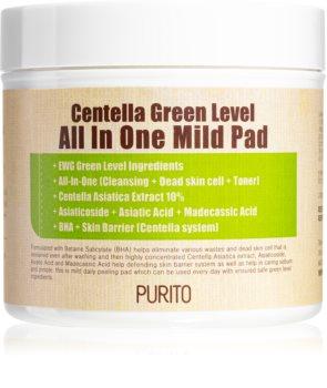 Purito Centella Green Level peelingové pleťové tampóny