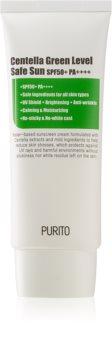 Purito Centella Green Level crema abbronzante ultra leggera per viso e corpo SPF 50+