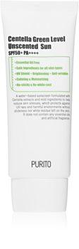 Purito Centella Green Level crema facial protectora con textura ligera SPF 50+