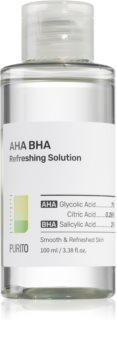 Purito AHA BHA Refreshing Solution exfoliační čisticí tonikum