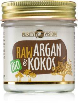 Purity Vision Raw huile d'argan à la noix de coco