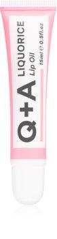 Q+A Liquorice huile à lèvres