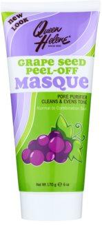 Queen Helene Grape Seed mascarilla peel-off para pieles normales y mixtas