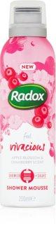 Radox Feel Vivacious spumă de duș pentru îngrijire