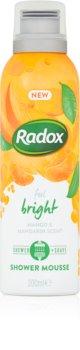 Radox Feel Bright Pflegender Duschschaum