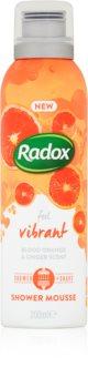 Radox Feel Vibrant tápláló fürdőhab