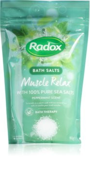 Radox Muscle Relax сол за релаксираща вана