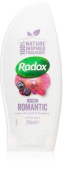 Radox Romantic Orchid & Blueberry finom tusolókrém