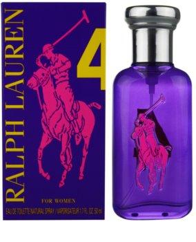 Ralph Lauren The Big Pony 4 Purple Eau de Toilette para mulheres 50 ml