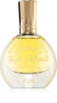 Rasasi Mukhallat Lil Abhaya Wa Shela Eau de Parfum voor Vrouwen