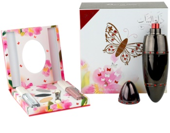 Rasasi Daala Al Banat Amani parfumovaná voda + očné tiene + tekuté linky na oči + lesk na pery pre ženy