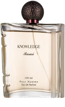 Rasasi Knowledge eau de parfum para hombre