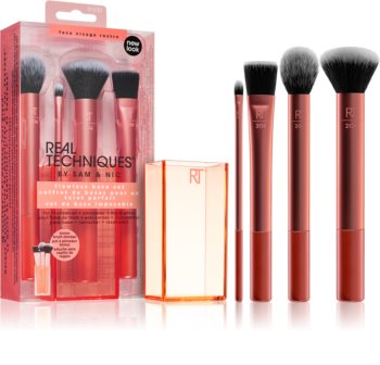 Real Techniques Flawless Base Set set di pennelli