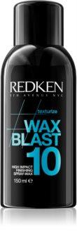 Redken Texturize Wax Blast 10 cera de pelo de acabado mate