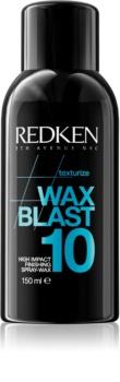 Redken Texturize Wax Blast 10 cire pour cheveux effet mat