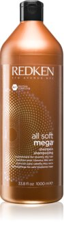Redken All Soft shampoo detergente per capelli rovinati