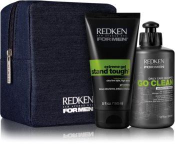 Redken For Men Go Clean kosmetická sada II. (pro suché a normální vlasy) pro muže