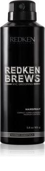 Redken Brews spray per capelli con fissaggio extra forte