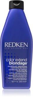 Redken Color Extend Blondage balsam neutralizeaza tonurile de galben