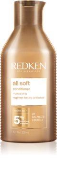 Redken All Soft подхранващ балсам за суха и крехка