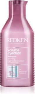 Redken Volume Injection shampoing volumisant pour cheveux fins