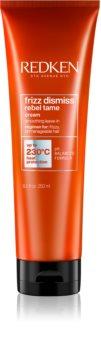 Redken Frizz Dismiss термозащитен крем за изглаждане на непокорна коса