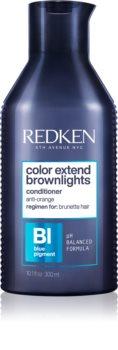 Redken Color Extend Brownlights Sävyttävä Hoitoaine neutraloi messinkisävyjä