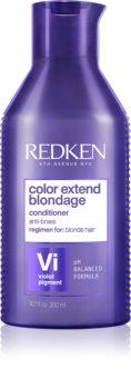 Redken Color Extend Blondage violetter Conditioner neutralisiert gelbe Verfärbungen