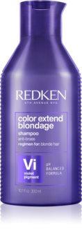 Redken Color Extend Blondage sampon violet neutralizeaza tonurile de galben