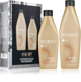 Redken All Soft set cadou (pentru par uscat si fragil)