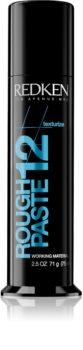 Redken Texturize Rough Paste 12 gel modelator pentru coafura pentru toate tipurile de păr
