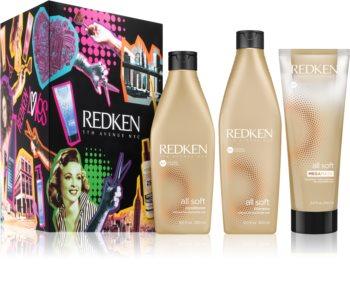 Redken All Soft set cadou II. (pentru par uscat)