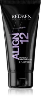 Redken Straight Lissage Align 12 bálsamo alisante para cabello maltratado por el calor