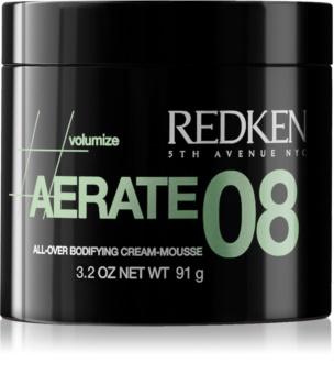 Redken Volumize Aerate 08 spumă cremă pentru coafare pentru volum