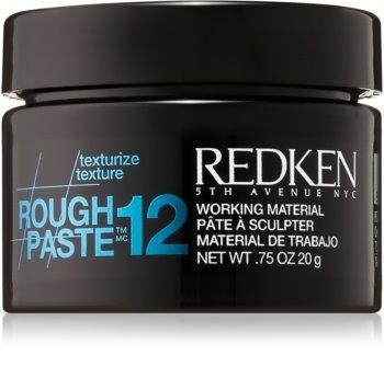 Redken Texturize Rough Paste 12 pasta matificante  para fixação flexível