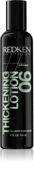 Redken Volumize Thickening Lotion 06 leche fijadora para dar volumen y brillo