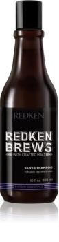 Redken Brews Silver Shampoo for White and Grey Hair